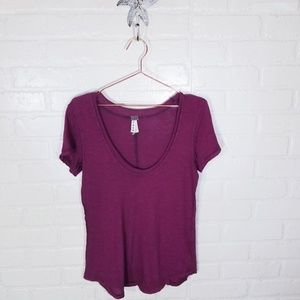 We the Free by Free People sz S distressed T
